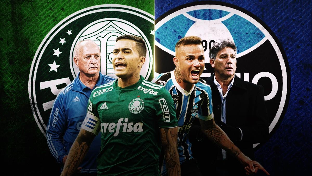 Palmeiras e Grêmio colocam em xeque duelo entre melhores ataques e defesas  do Brasil  02296ad416d1e