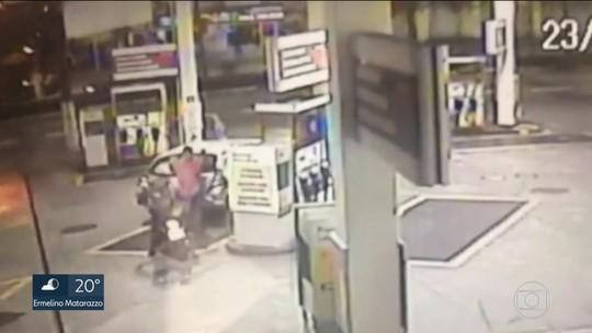 Vídeo mostra assalto que terminou com morte de frentista em posto de Osasco