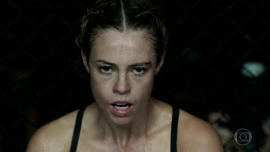 Galvão Bueno narra e Kyra Gracie comenta vitória de Jeiza no UFC