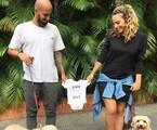 Maíra Charken e Renato Antunes serão pais pela primeira vez   Reprodução