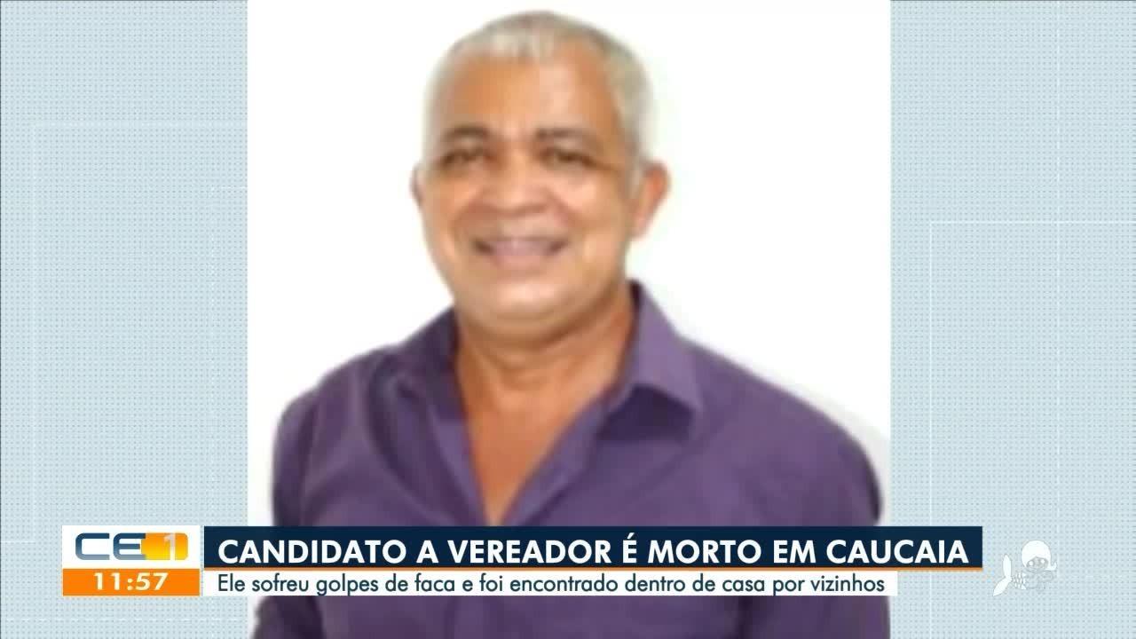 Candidato a vereador é morto em Caucaia