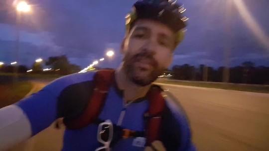 Ciclistas do DF pedalam por mais de 7 horas em trajeto entre Vicente Pires e Formosa
