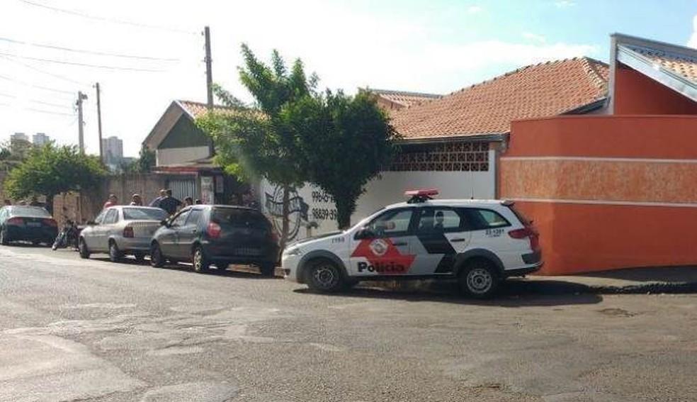 Casa onde Camila Lourenço foi assassinada em Araraquara (Foto: A Cidade ON/ Araraquara)