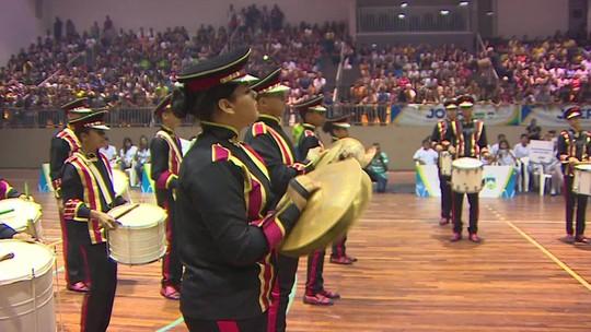 Abertura da fase coletiva dos Jogos Escolares de Rondônia