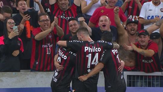 Atlético-PR x Caracas - Copa Sul-Americana 2018 - globoesporte.com