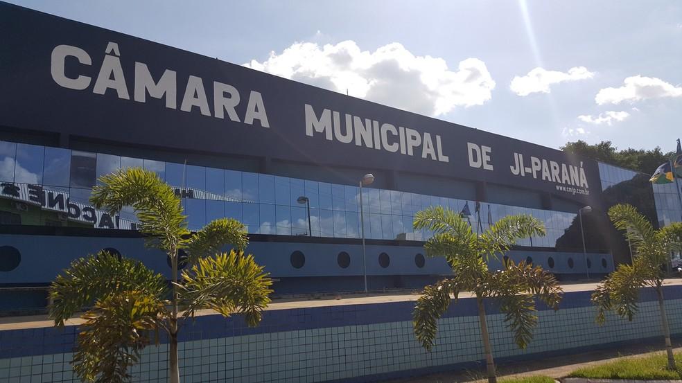 Câmara Municipal de Ji-Paraná recebeu ofício com a cópia do inquérito  (Foto: Marco Bernardi/Arquivo Pessoal)