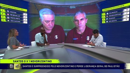 """Ana Thais diz que tem achado Santos de Sampaoli previsível: """"Não tem variado tanto"""""""