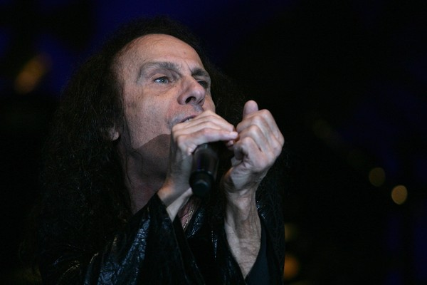 O cantor Ronnie James Dio (Foto: Getty Images)