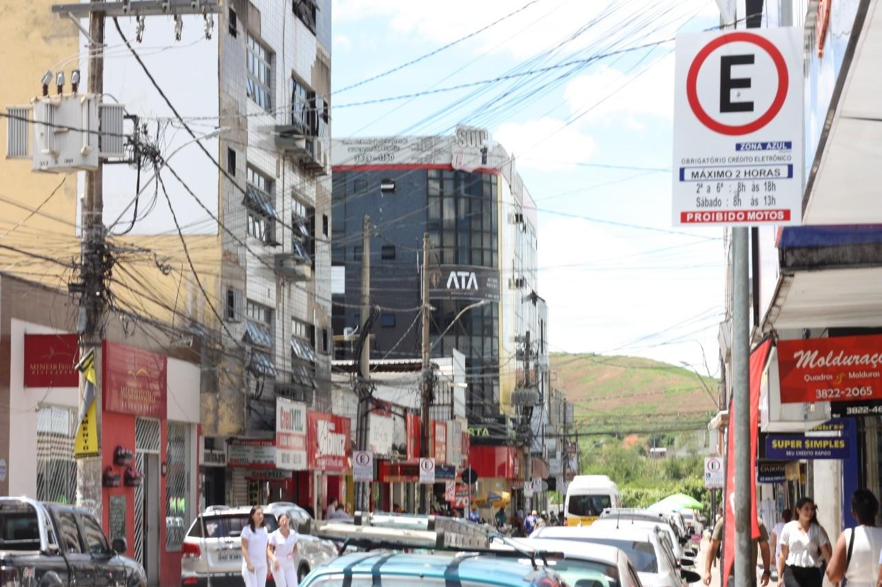 Estacionamento rotativo Zona Azul volta a funcionar em Ipatinga
