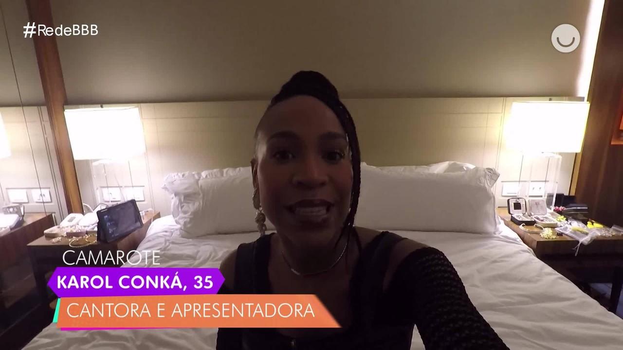 Karol Conká, do BBB21, conta o que sente falta do mundo externo no Diário do Confinamento