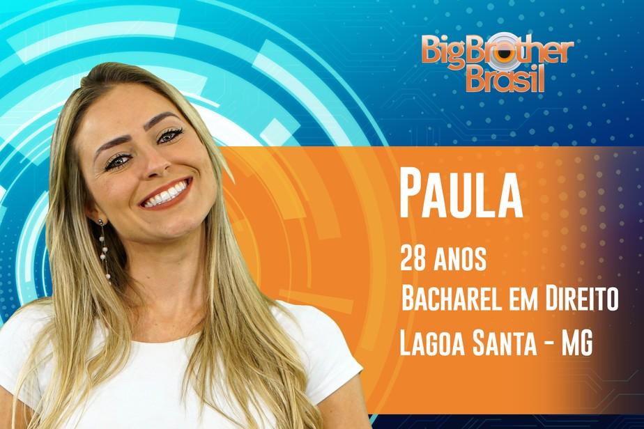 Paula é participante do BBB19; conheça!