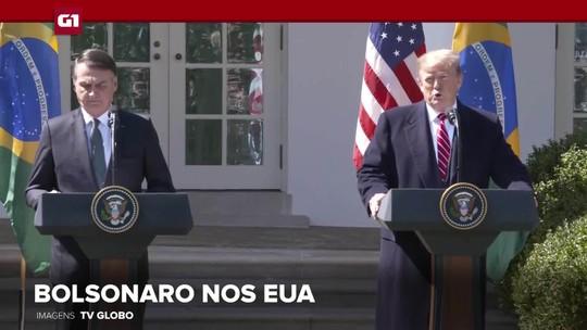 G1 em 1 Minuto: Trump diz querer Bolsonaro como aliado na Otan