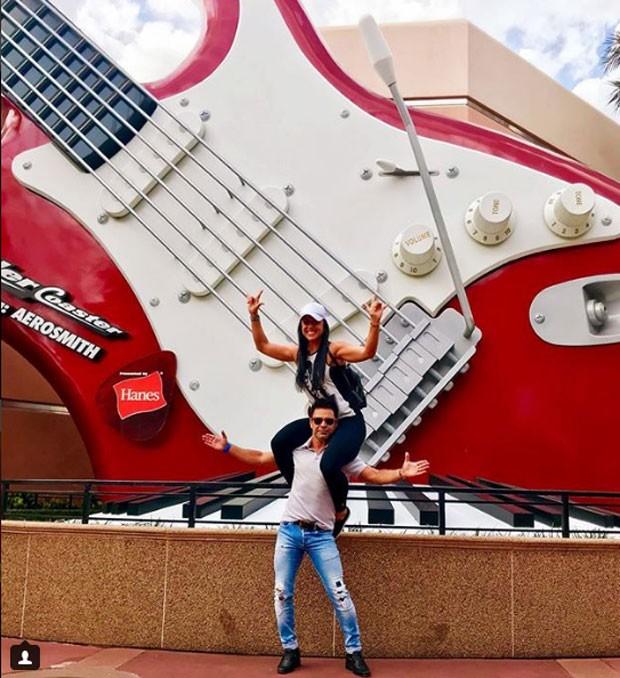 Zezé Di Camargo e Graciele Lacerda (Foto: Reprodução Instagram)
