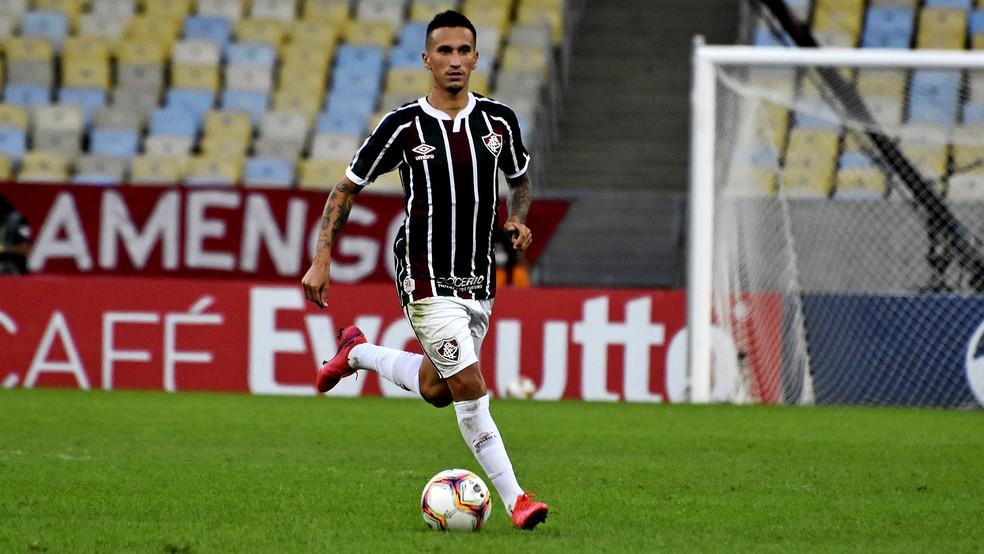Dodi, volante do Fluminense — Foto: Mailson Santana / FFC
