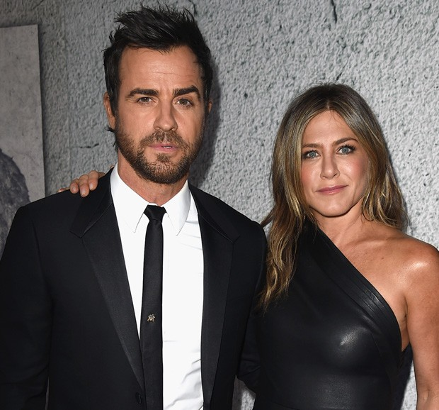 Justin Theroux e Jennifer Aniston (Foto: Getty Images)