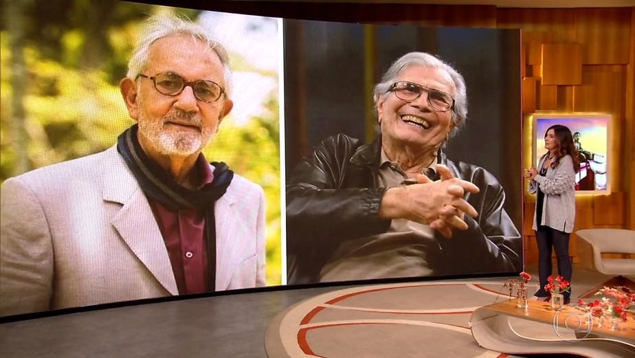 Tarcísio Meira e Paulo José juntos em cena: impossível não se emocionar