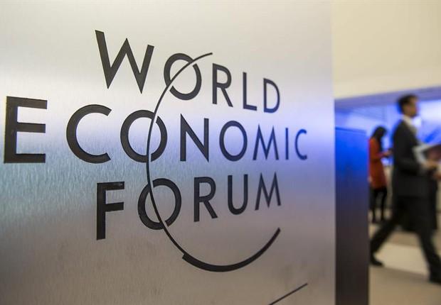 O Fórum Econômico Mundial 2014 começou no dia 22 de janeiro, em Davos, Suíca (Foto: EFE/Jean-Christophe Bott)