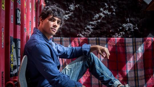 Gabriel Fuentes relembra trajetória difícil antes de conseguir papel em 'Malhação'