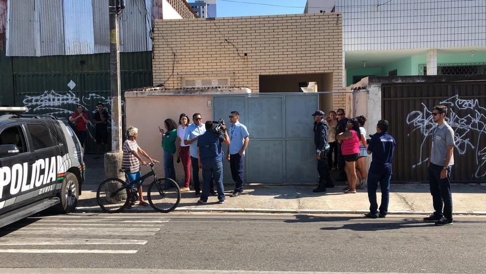 Idoso foi achado com sinais de tortura em Fortaleza — Foto: Reprodução