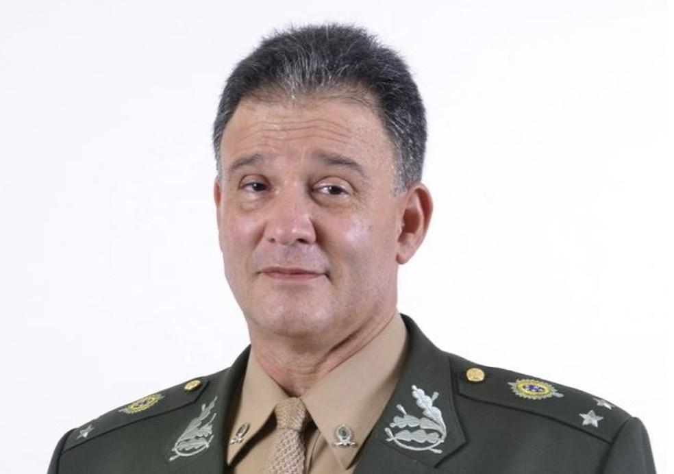 Carlos Roberto Pinto de Souza comandava a Diretoria de Avaliação da Educação Básica (Daeb) — Foto: Exército Brasileiro