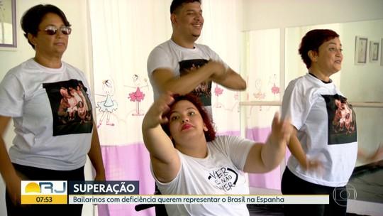 Bailarinos com deficiência querem representar o Brasil em festival na Espanha