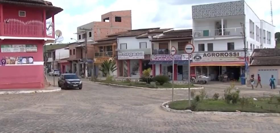 Guaratinga, no sul da Bahia — Foto: Reprodução / TV Bahia