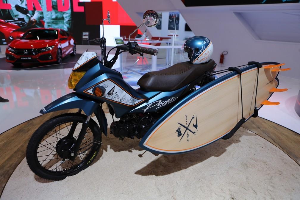 Honda Pop 110i Surf — Foto: Fabio Tito/G1