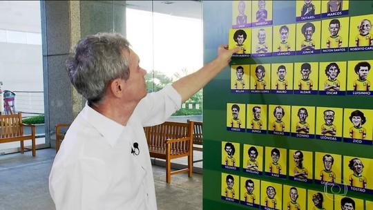 Duelo dos Sonhos: Serginho Groisman escala formação ousada da Seleção