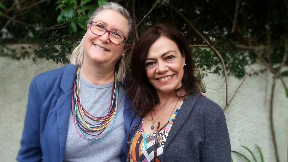 Marta Monteiro e Veronique Forat desenvolveram juntas plataforma voltada para o mercado da moradia — Foto: BBC