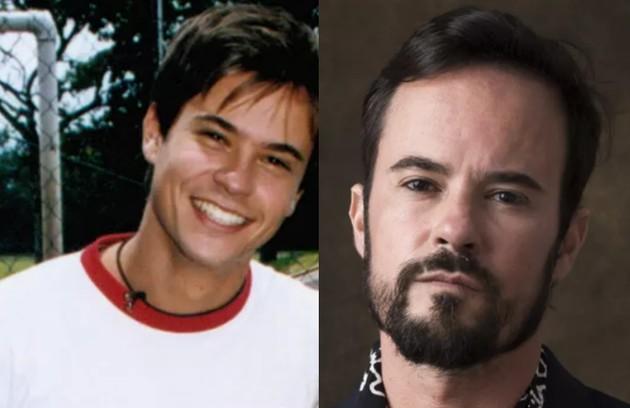 Paulo Vilhena, o João Inácio de 'O Sétimo Guardião', foi Gustavo, um jovem esportista que namorou Sandy na história (Foto: TV Globo)