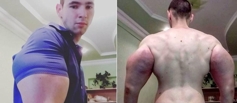 Kirill Tereshin e os seus músculos de 'efeitos especiais'