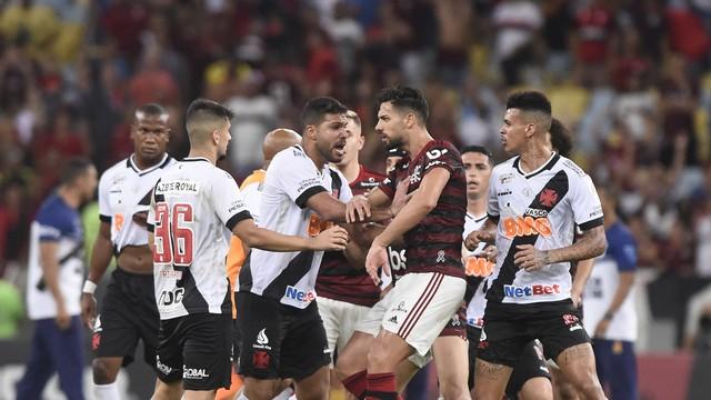 Flamengo x Vasco em novembro de 2019