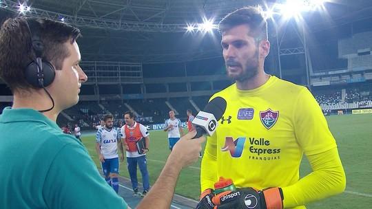 """Júlio César explica derrota em casa para o Avaí: """"Não tivemos no melhor dia"""""""