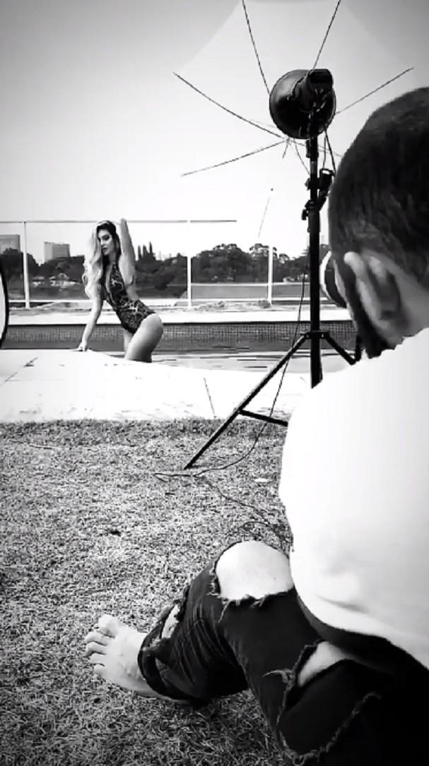 Bruna Santana, irmã de Luan (Foto: Instagram/Reprodução)
