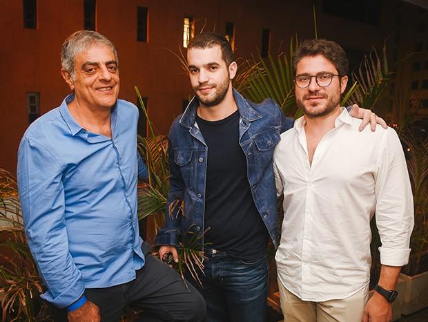 Sergio Kalil, Fernando Camargo e Fernando Menocci (Foto: André Ligeiro/ Divulgação)