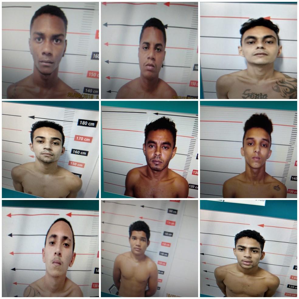 Detentos fugiram do presídio Barra da Grota — Foto: Divulgação