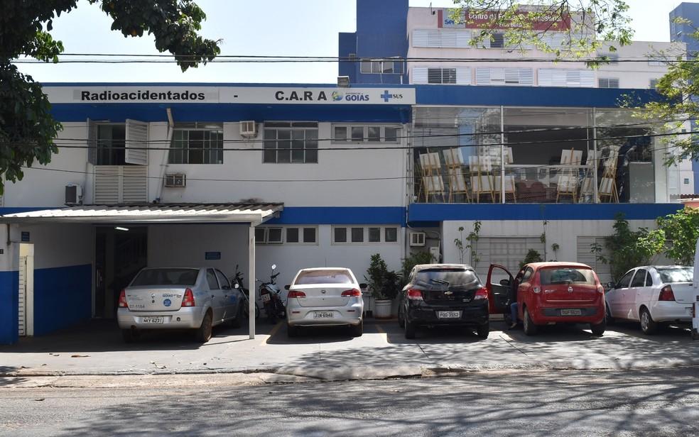 Antiga Vigilância Sanitária sedia atualmente o Centro de Assistência aos Radioacidentados (Cara) (Foto: Paula Resende/ G1)