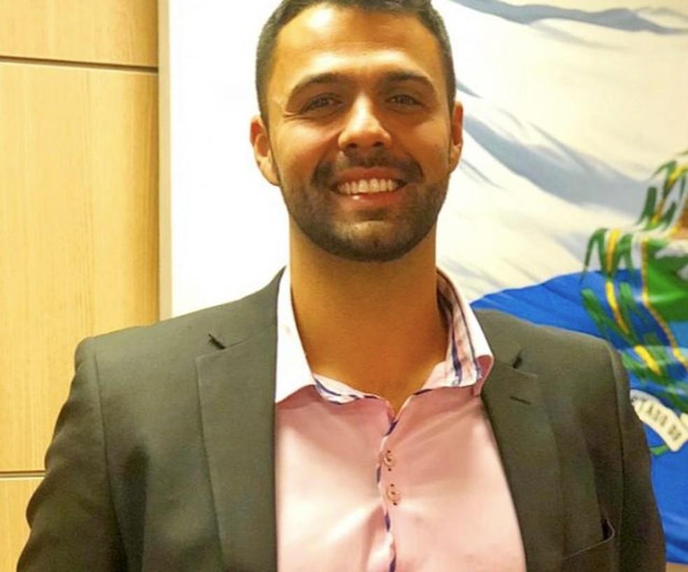 Secretário de Cultura e Economia Criativa, Ruan Lira — Foto: Divulgação