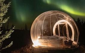 Hotel tem quartos de bolha para manter o distanciamento social