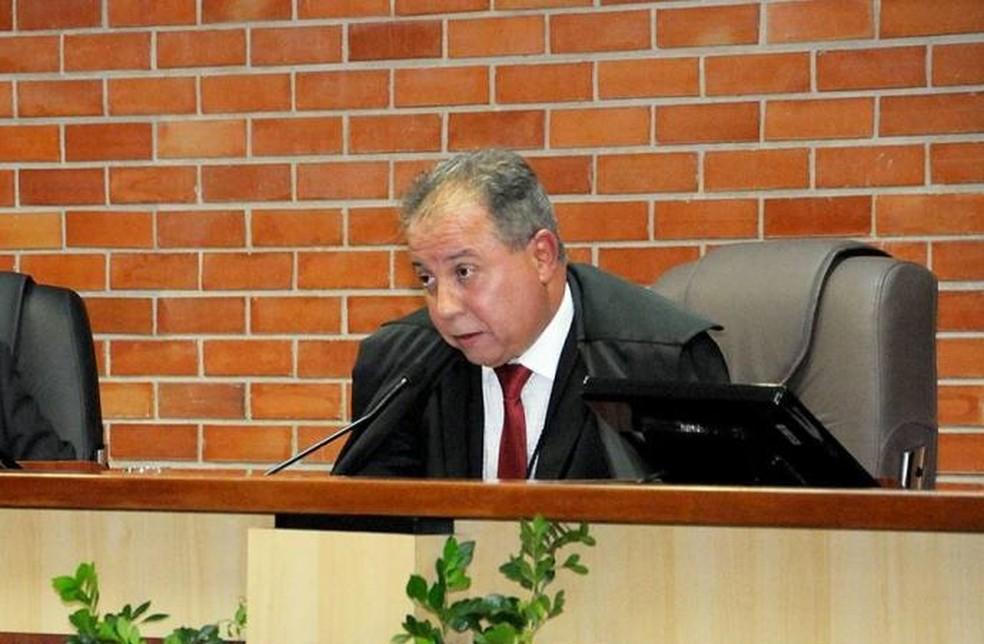 Ronaldo Eurípedes foi presidente do Tribunal de Justiça (Foto: Secom/Divulgação)