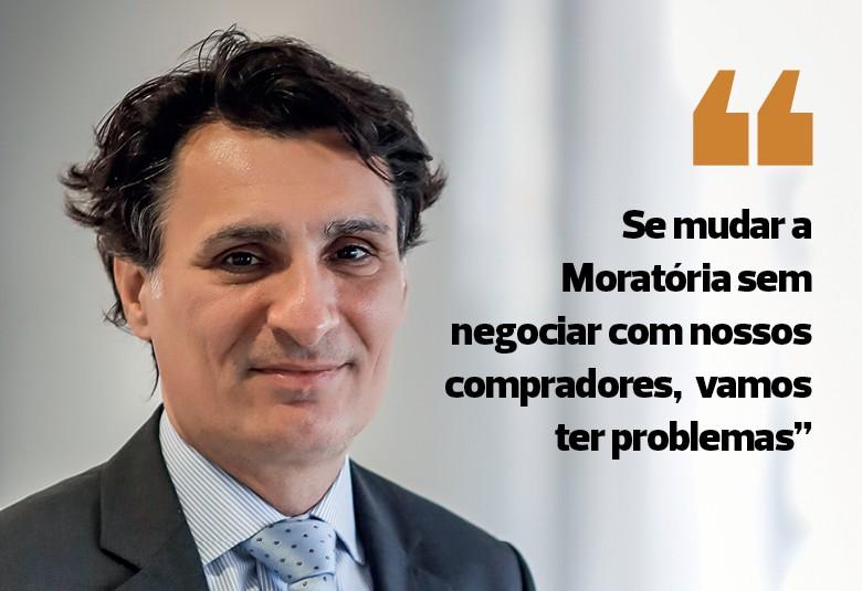 André Nassar, presidente da Associação Brasileira das Indústrias de Óleos Vegetais (Abiove) (Foto: Edilson Dantas / Agência O Globo)