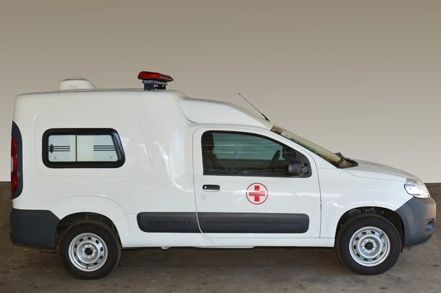 Fiat Fiorino Ambulância (Foto: Divulgação)