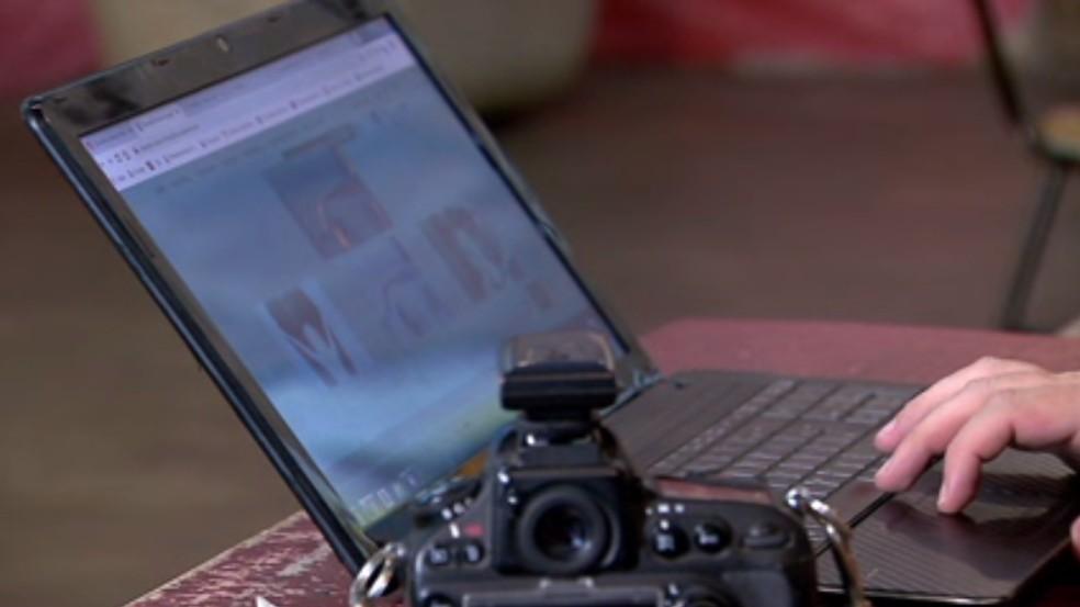 Fotografia & Audiovisual é uma área com grande demanda de trabalho online — Foto: Reprodução/RPC