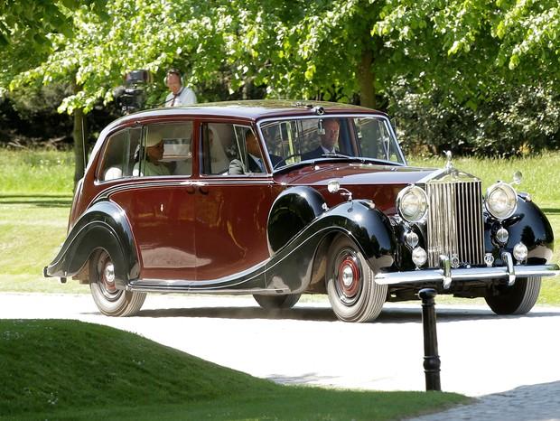 Rolls Royce usado para transportar Meghan Markle (Foto: Getty)