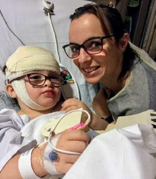 Teste oftalmológico salva criança (Foto: Reprodução/Love What Matters)