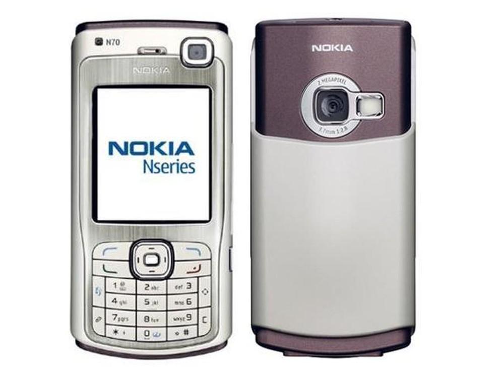 Nokia N70 possuía câmera frontal VGA � Foto: Divulgação