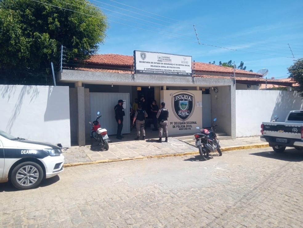 Polícia Civil de Monteiro suspeita que o alvo era o filho do vice-prefeito — Foto: Edvaldo José 'Ursinho'/Arquivo Pessoal