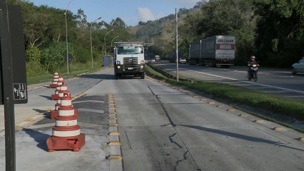 MPF quer balanças funcionando 24 horas nas estradas no Espírito Santo — Foto: Reprodução/ TV Gazeta