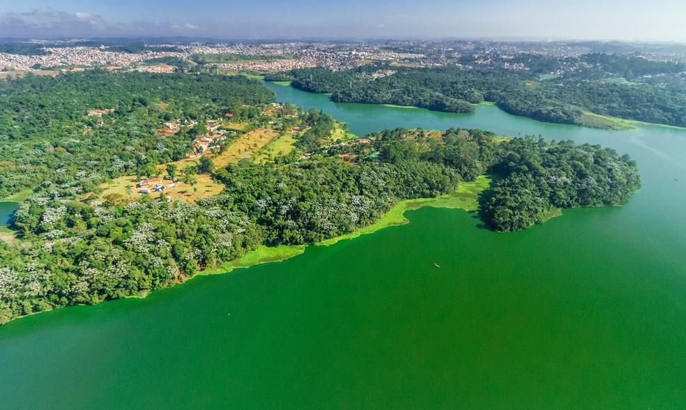 Parque Natural Municipal de Bororé, na Zona Sul de SP — Foto: Joca Duarte/Secretaria Municipal do Verde e do Meio Ambiente
