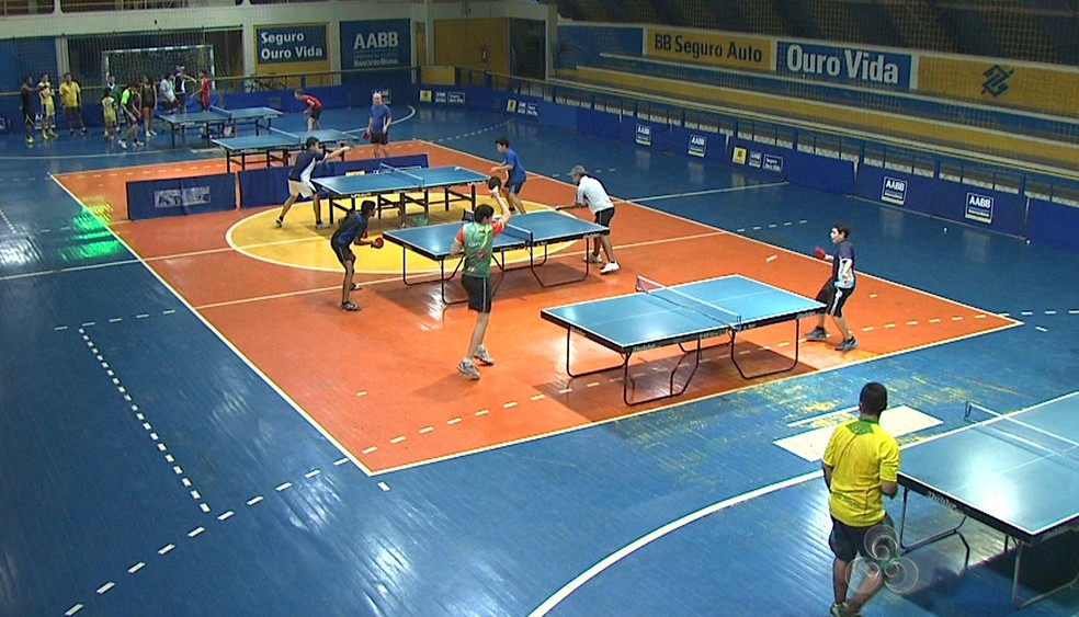 49aa5b6d0 ... Etapas de tênis de mesa acontecerão na AABB — Foto  Reprodução TV Acre